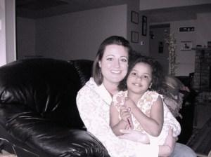 Amya and me